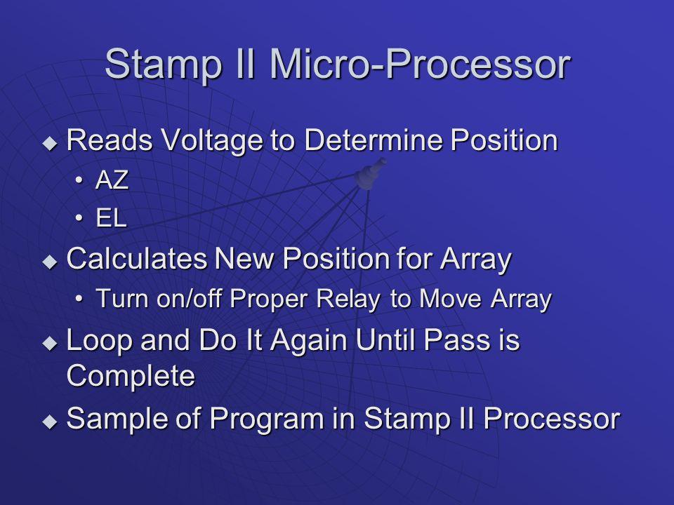 Stamp II Micro-Processor