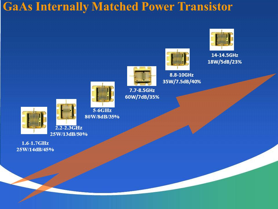 GaAs Internally Matched Power Transistor