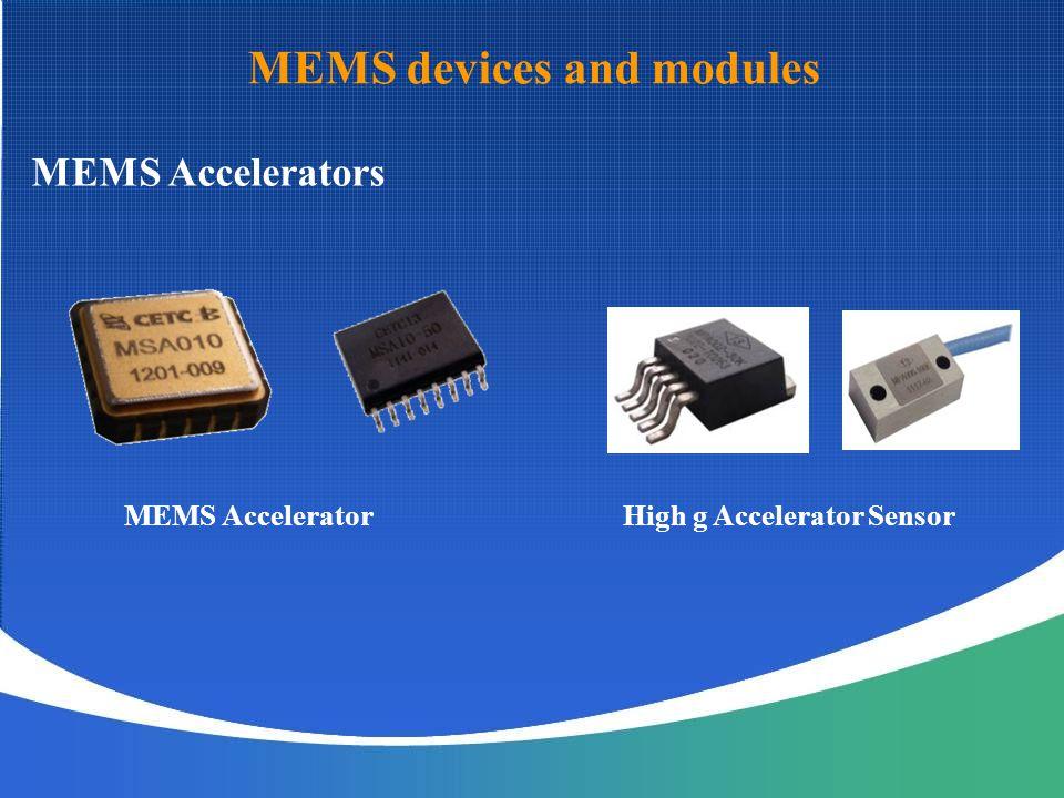 High g Accelerator Sensor
