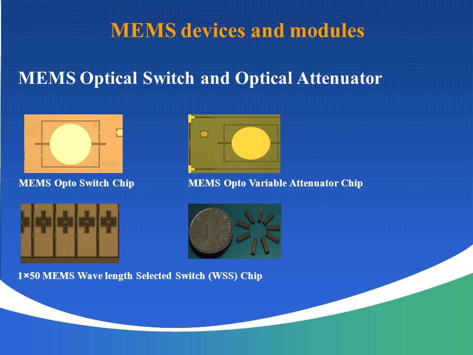 MEMS devices and modules
