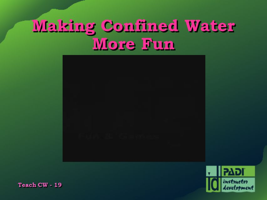Making Confined Water More Fun