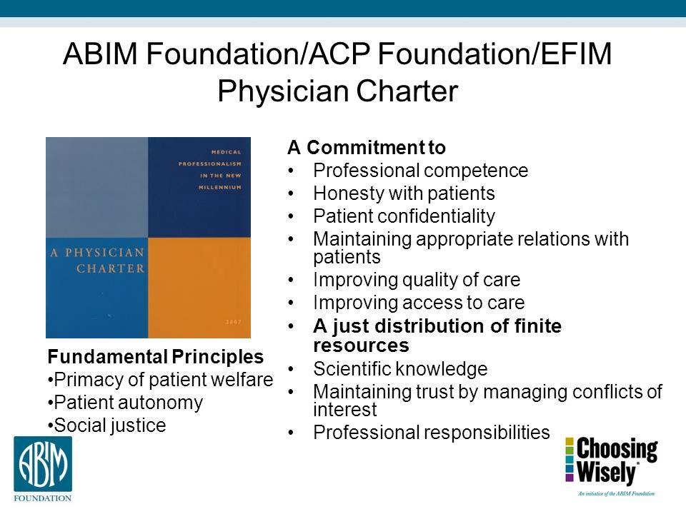 ABIM Foundation/ACP Foundation/EFIM