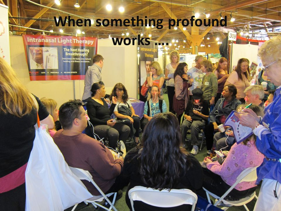 When something profound works ….