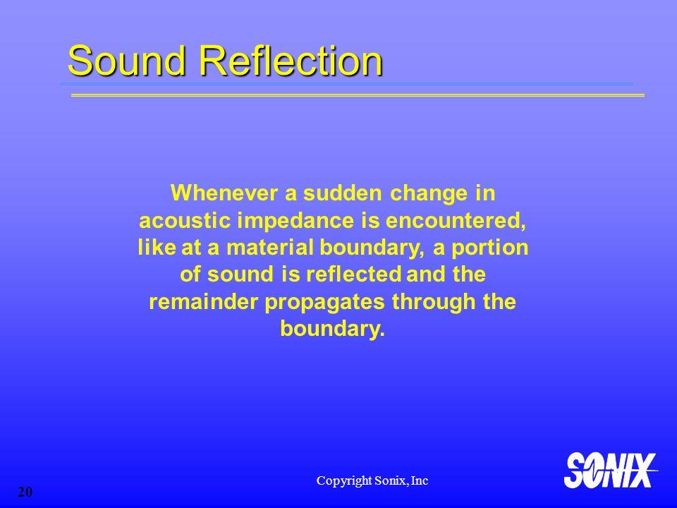 Sound Reflection