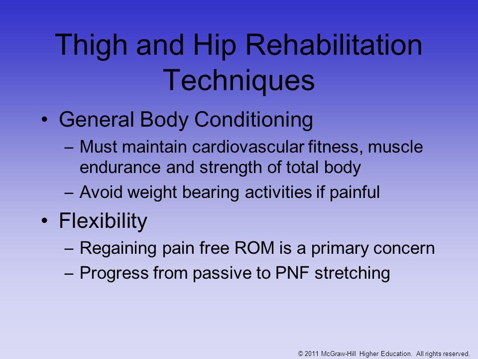 Thigh and Hip Rehabilitation Techniques