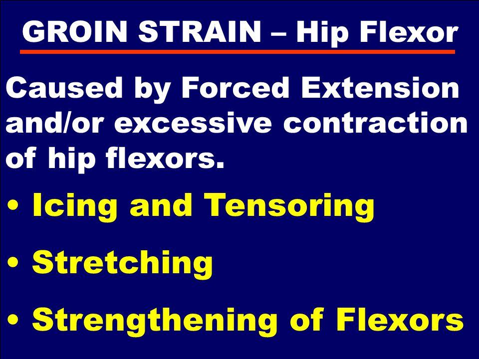 GROIN STRAIN – Hip Flexor