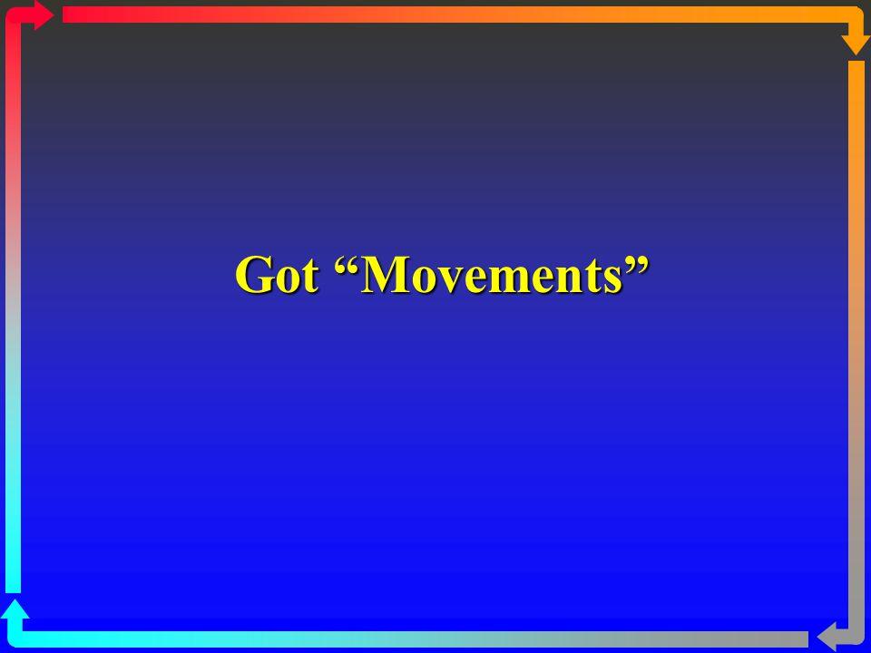 Got Movements