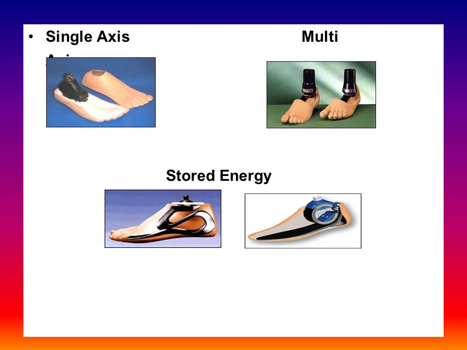 Single Axis Multi Axis Stored Energy