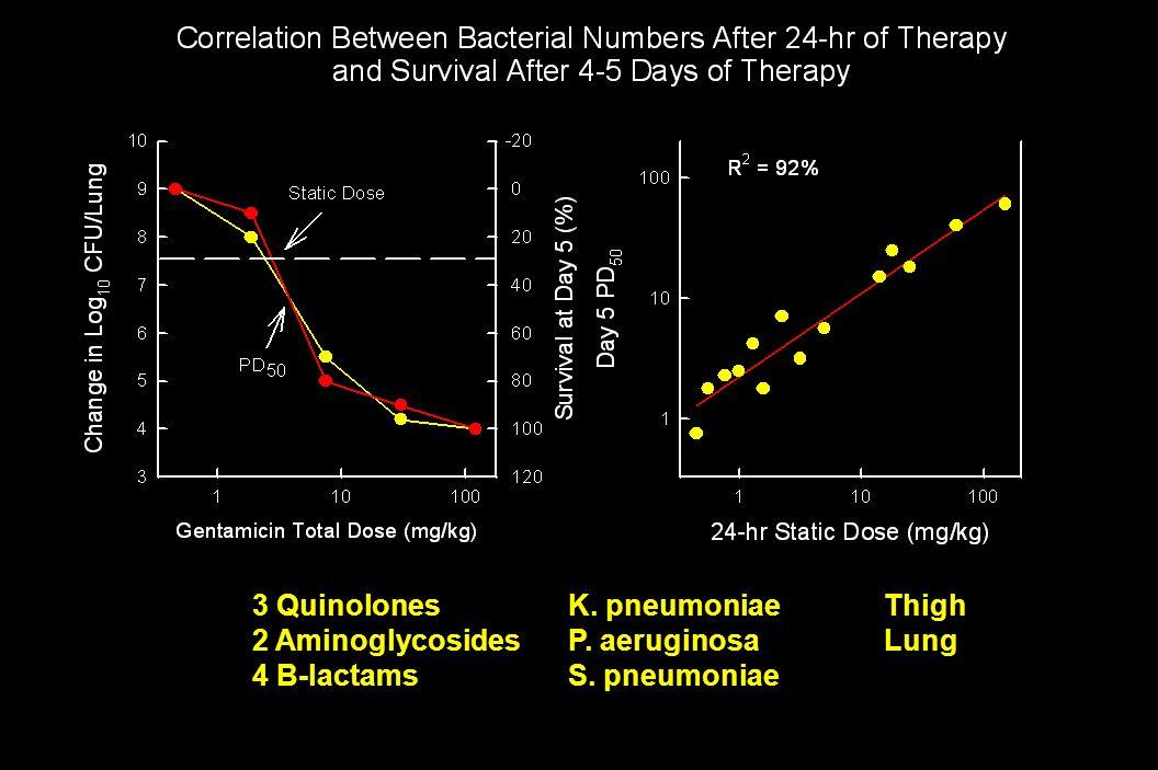 3 Quinolones K. pneumoniae Thigh