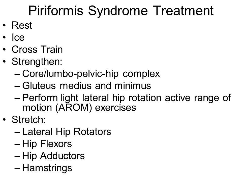 Piriformis Syndrome Treatment