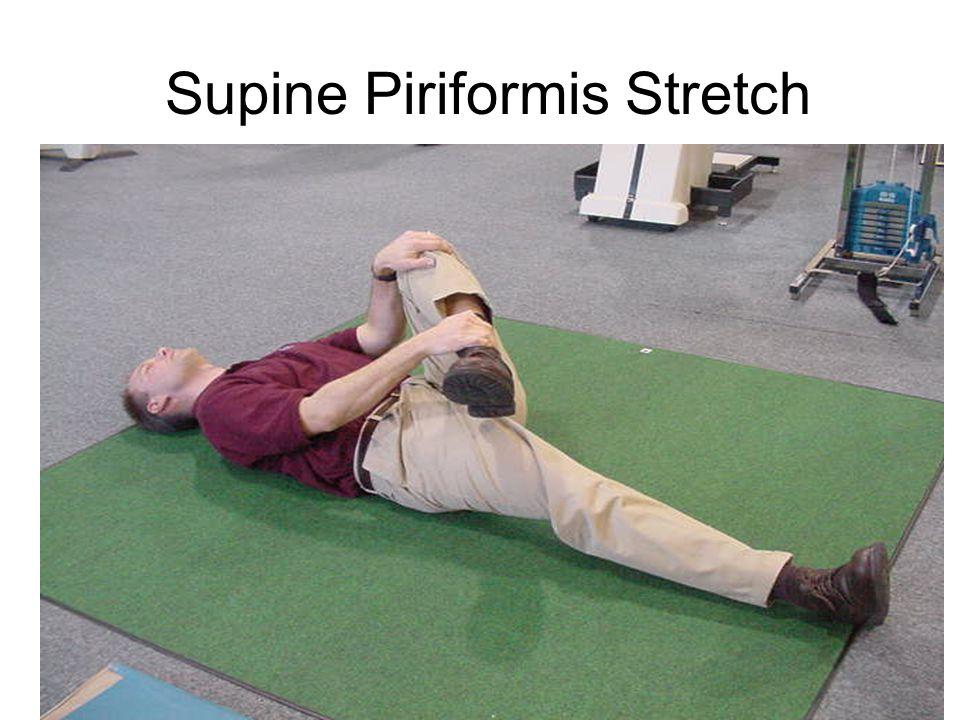 Supine Piriformis Stretch