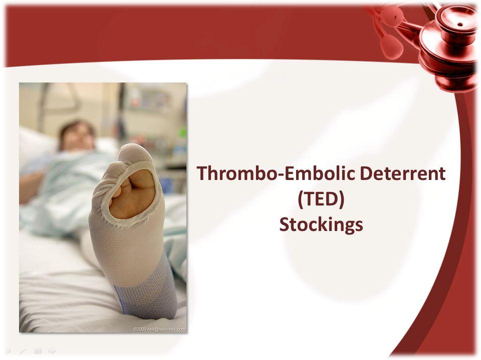 Thrombo-Embolic Deterrent