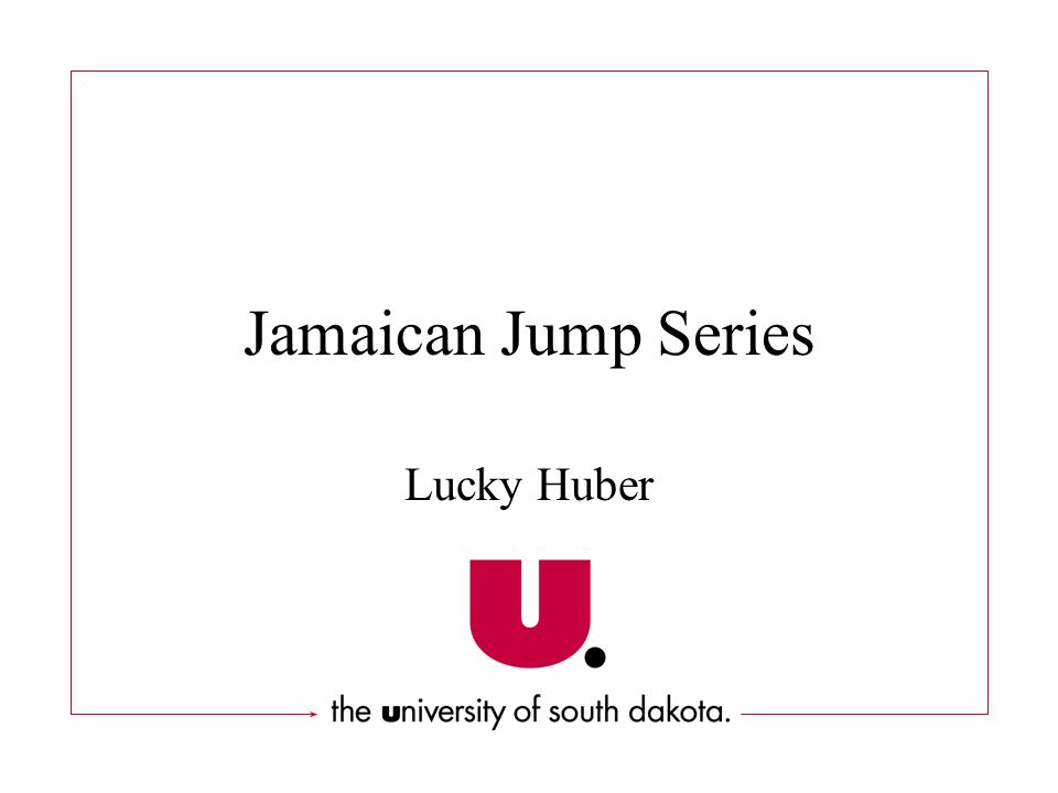 Jamaican Jump Series Lucky Huber