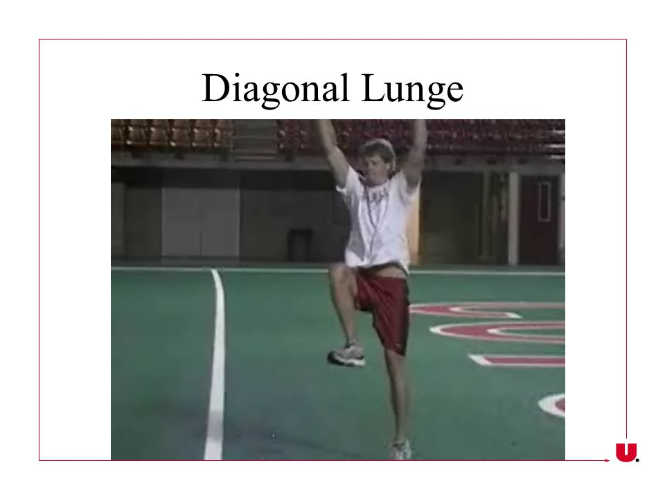 Diagonal Lunge