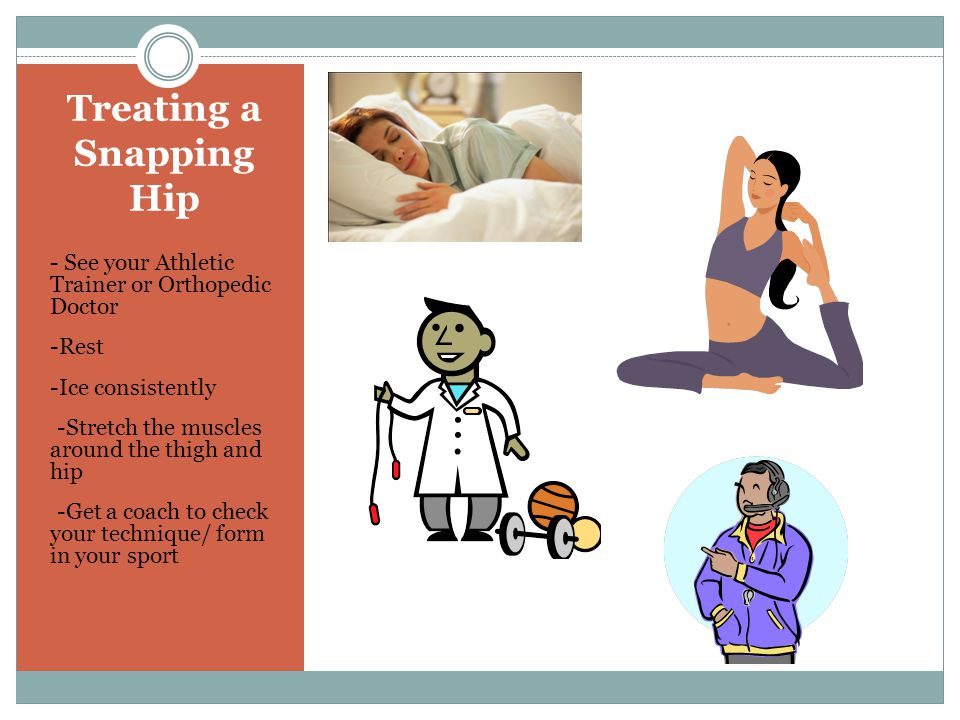 Treating a Snapping Hip