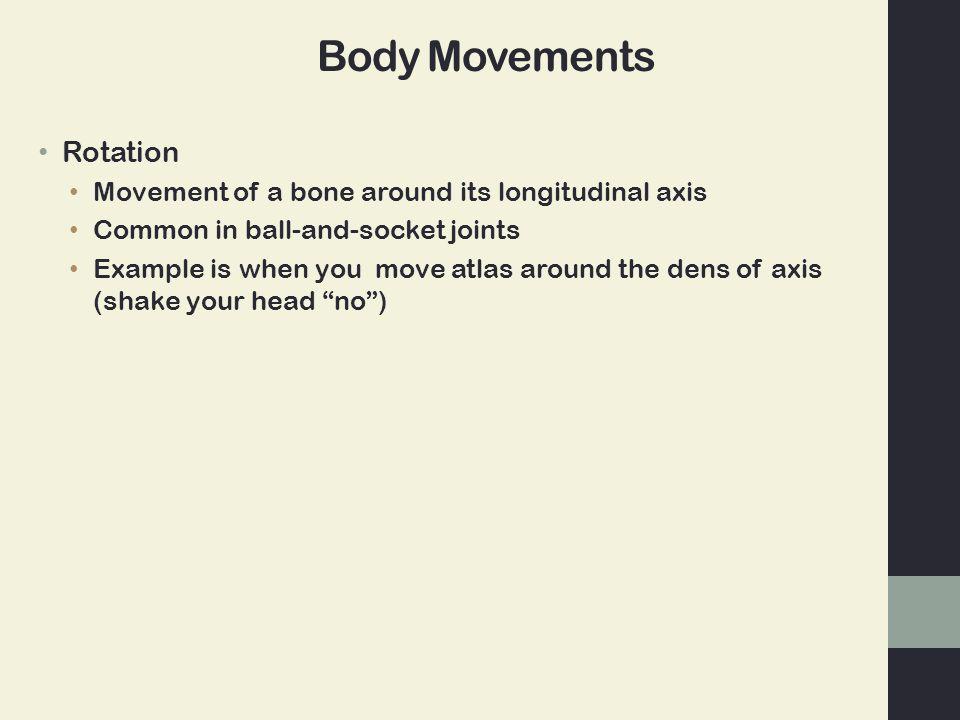 Body Movements Rotation