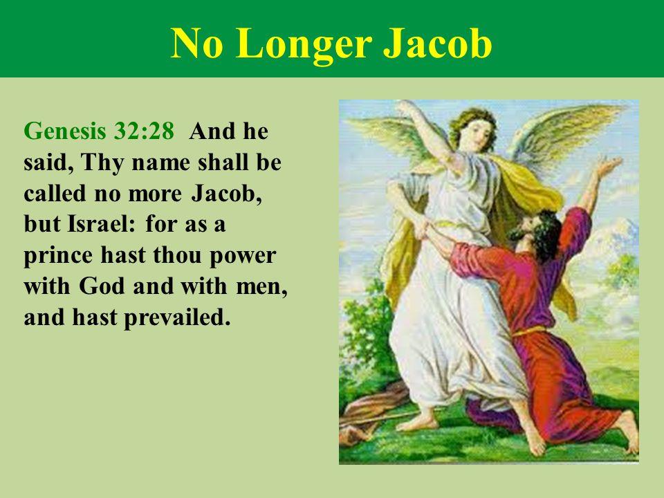 No Longer Jacob