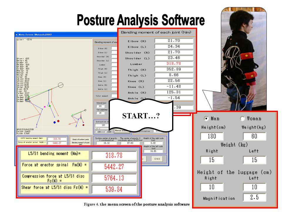 Posture Analysis Software