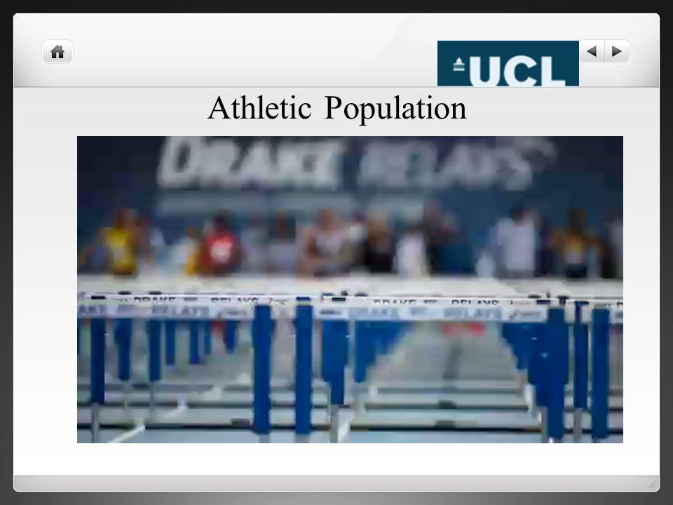 Athletic Population