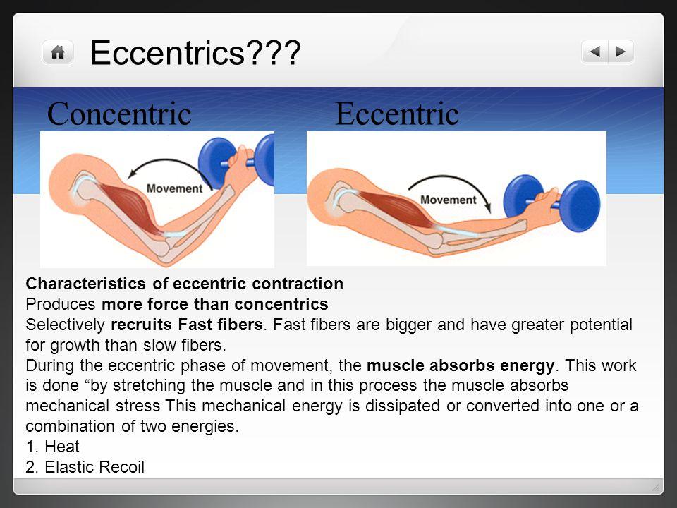 Eccentrics Concentric Eccentric