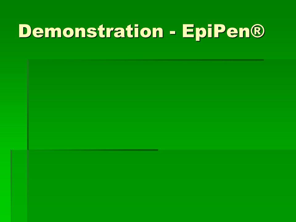 Demonstration - EpiPen®