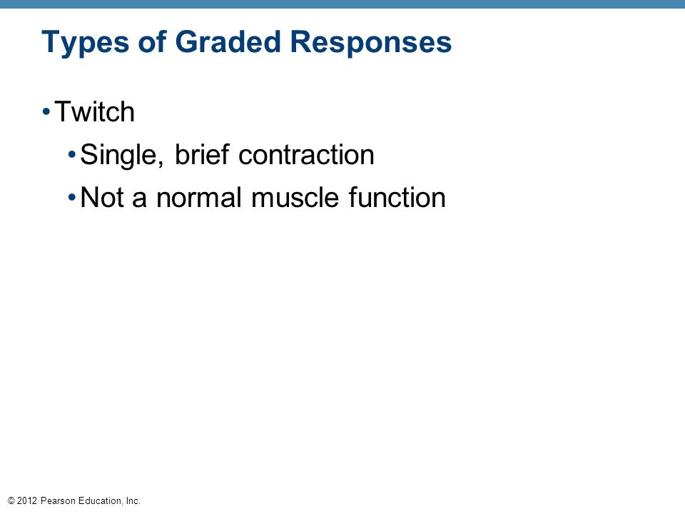 Types of Graded Responses