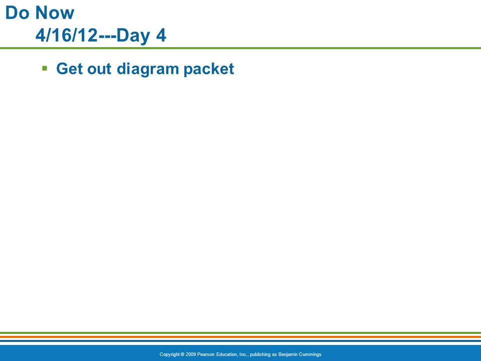 Do Now 4/16/12---Day 4 Get out diagram packet