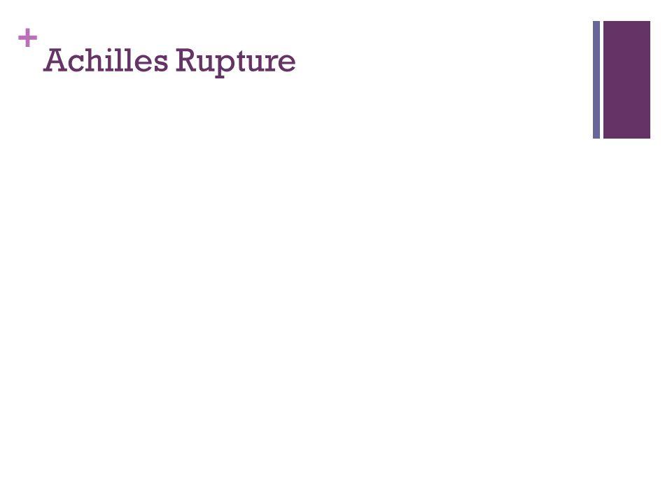 Achilles Rupture