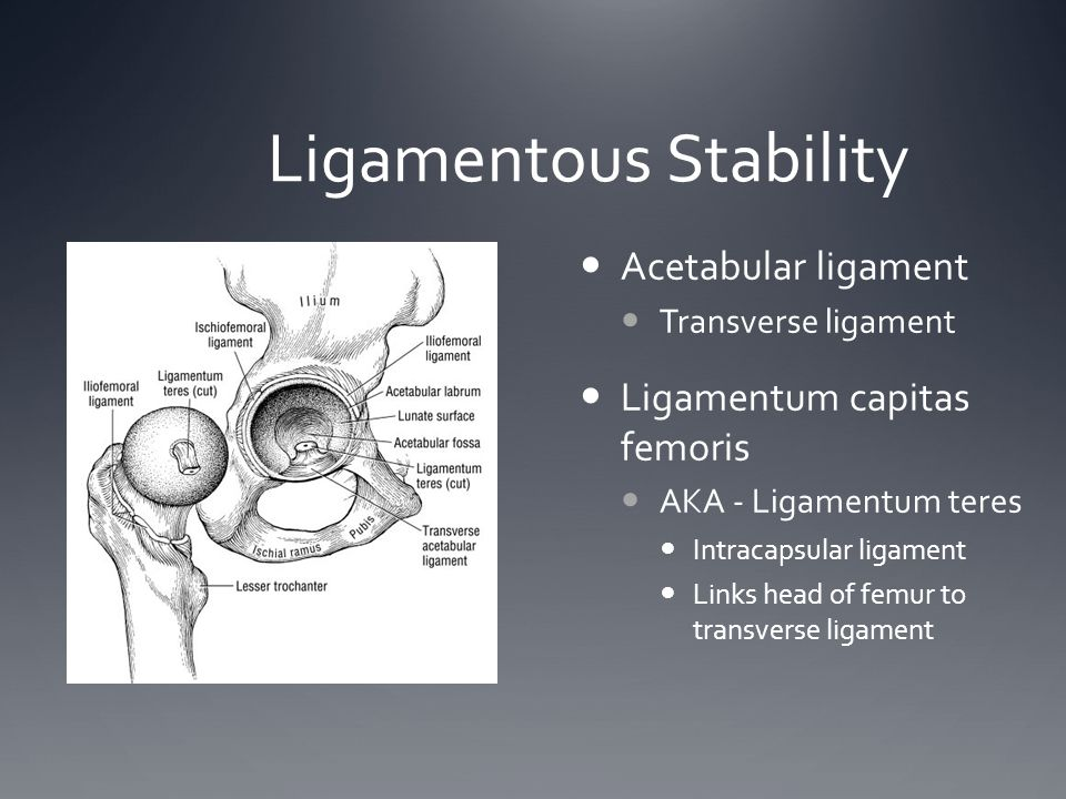 Ligamentous Stability