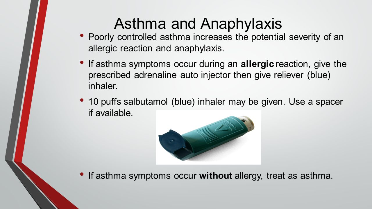 Asthma and Anaphylaxis