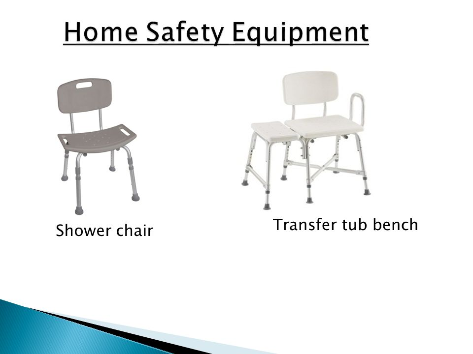 Home Safety Equipment Transfer tub bench Shower chair