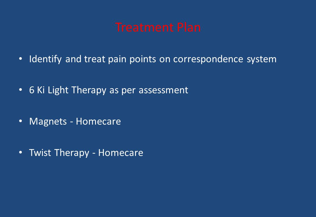 Treatment Plan Identify and treat pain points on correspondence system