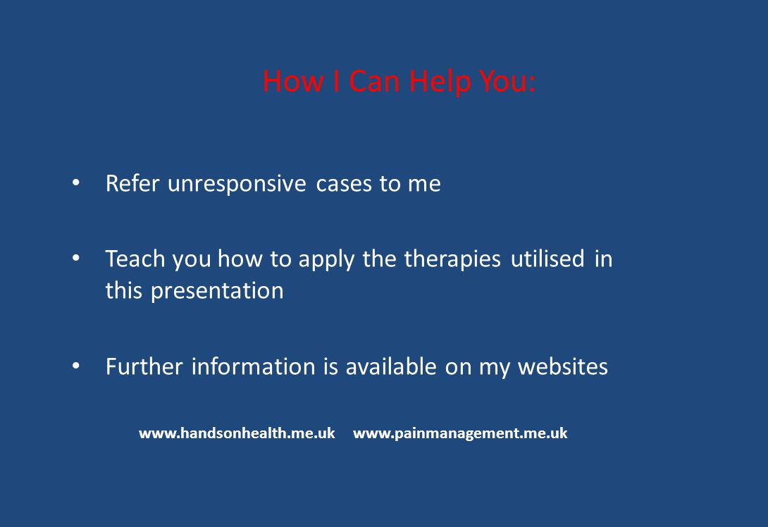 How I Can Help You: Refer unresponsive cases to me