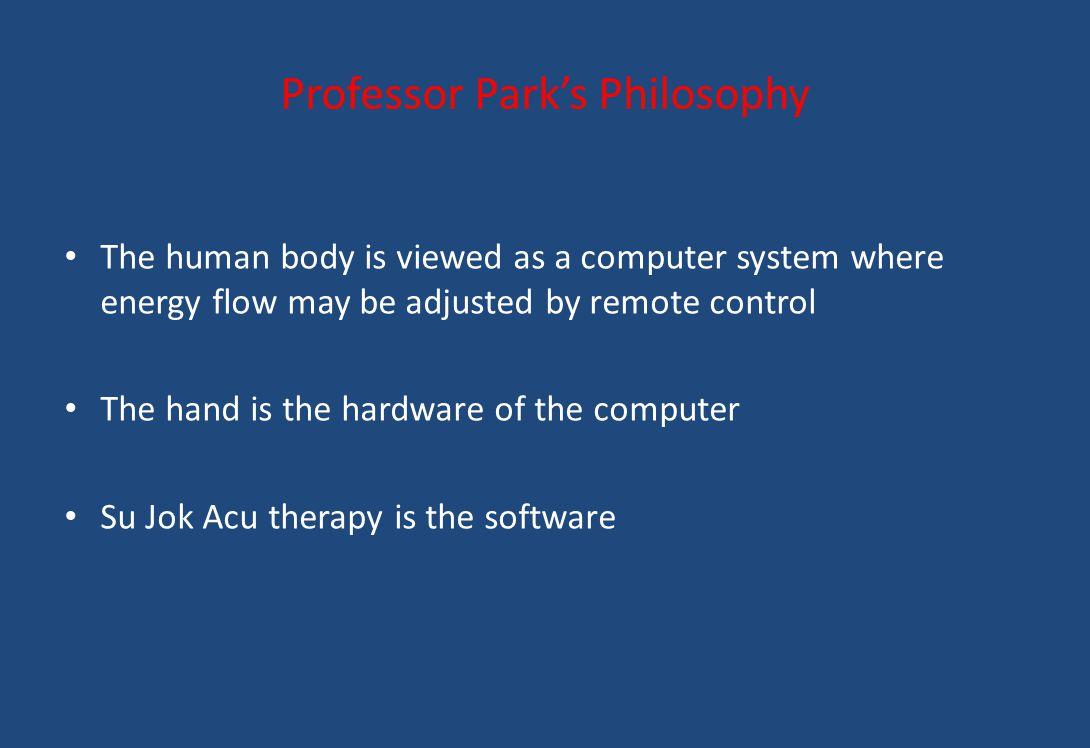 Professor Park's Philosophy