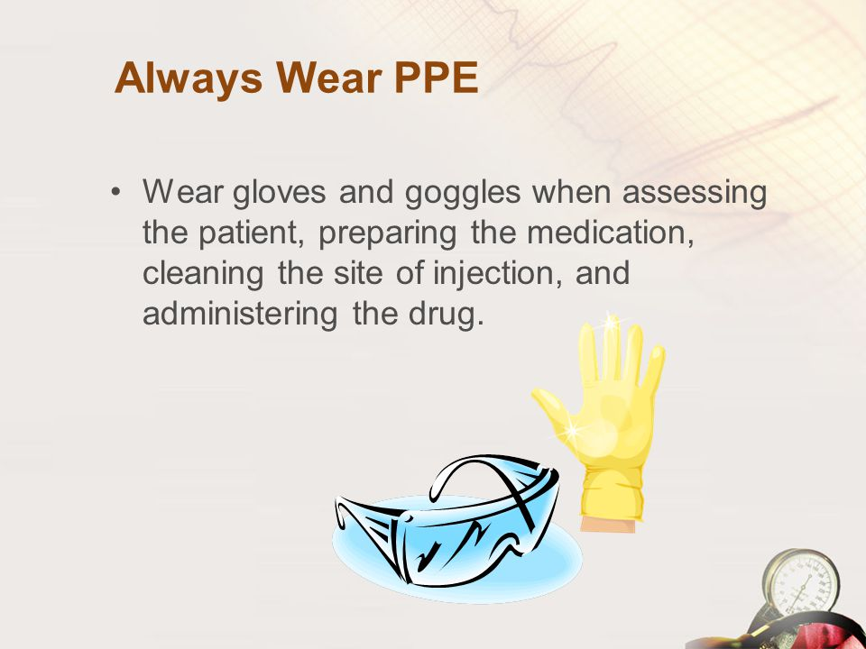 Always Wear PPE