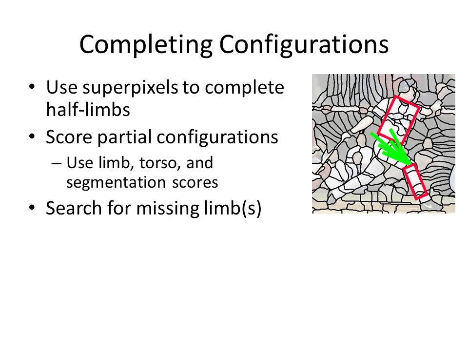 Completing Configurations
