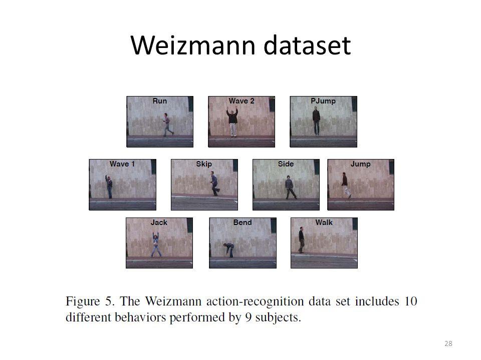 Weizmann dataset