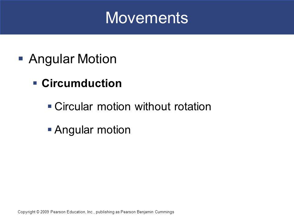 Movements Angular Motion Circumduction