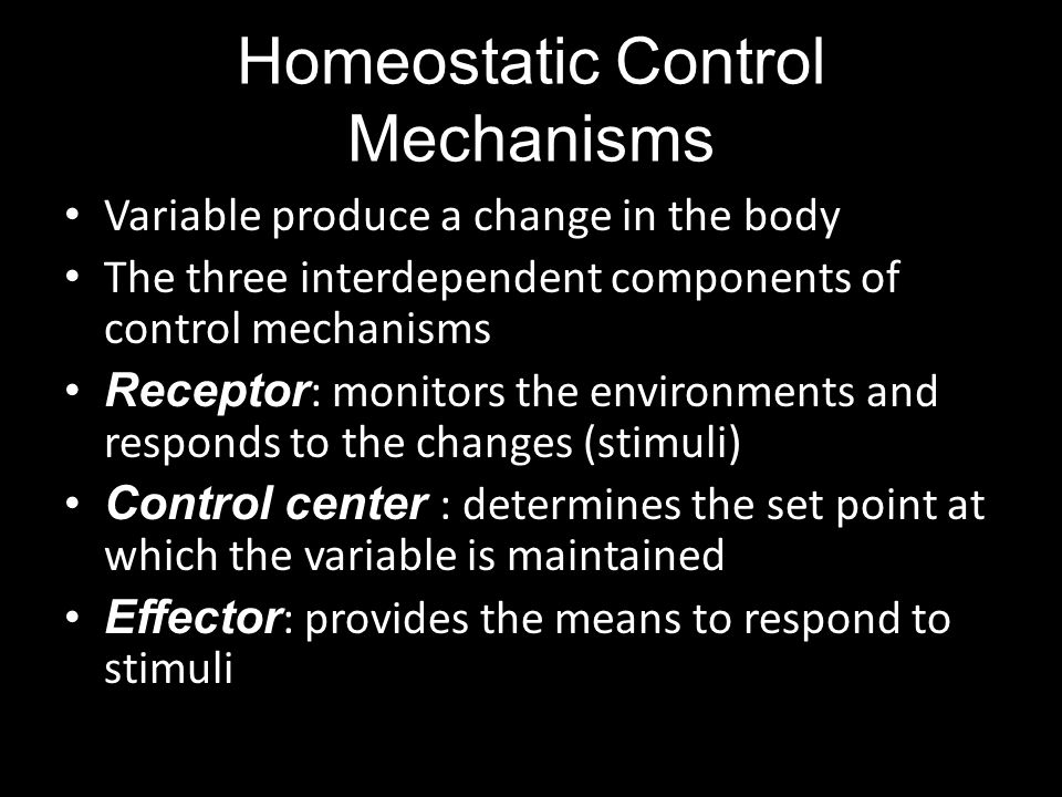 the importance of homeostatic mechanisms in the body What is homeostasis  the human body uses a number of processes to control its temperature, keeping it close to an average value or norm of 986 degrees fahrenheit  it is important to .
