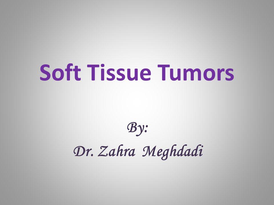 Soft Tissue Tumors By: Dr. Zahra Meghdadi