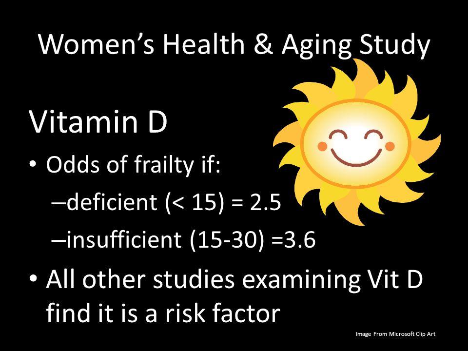 Women's Health & Aging Study