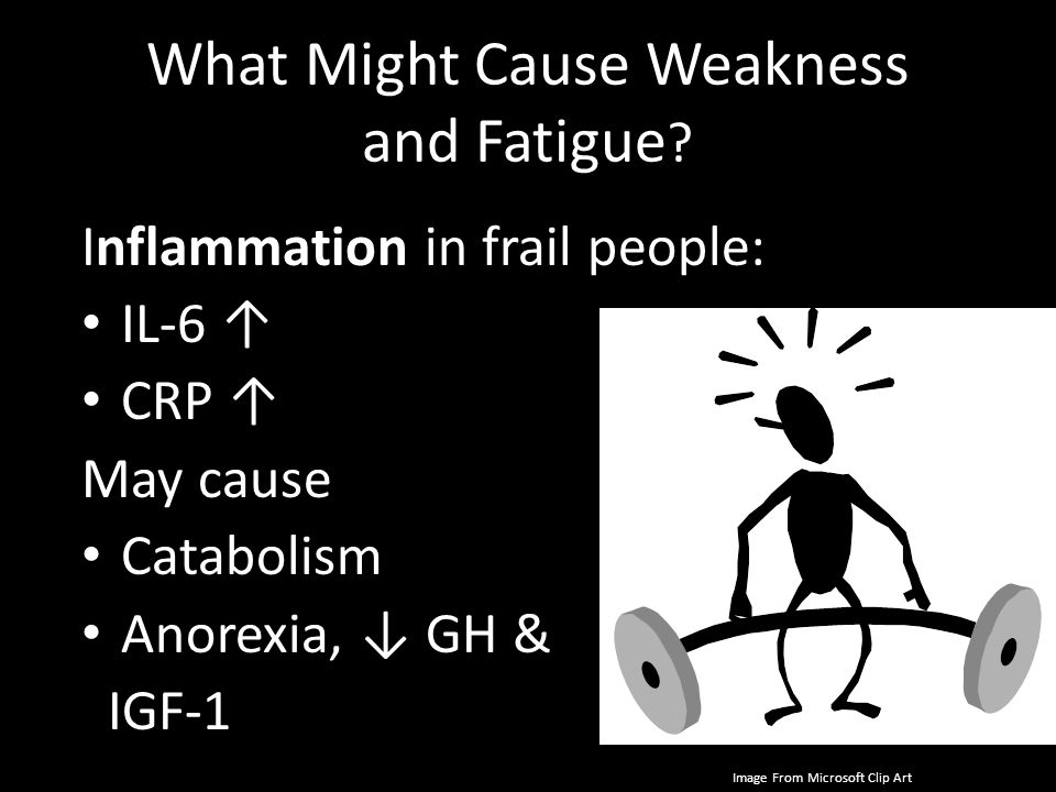 What Might Cause Weakness and Fatigue