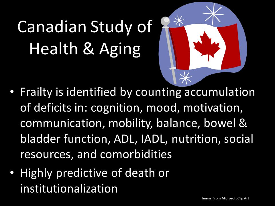 The Canadian Study of Health and Aging: risk factors for ...