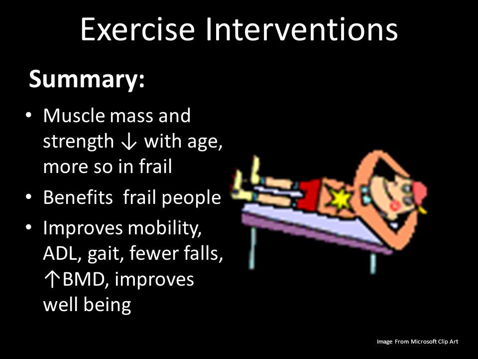 Exercise Interventions