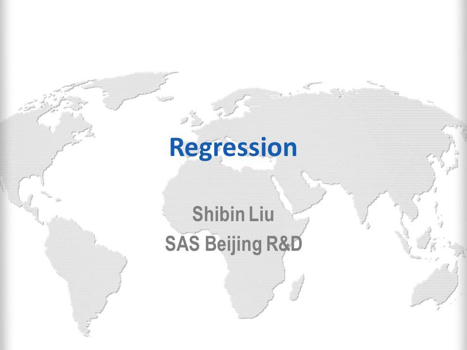 Shibin Liu SAS Beijing R&D