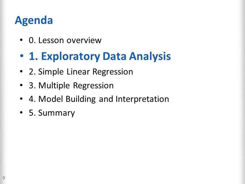 1. Exploratory Data Analysis