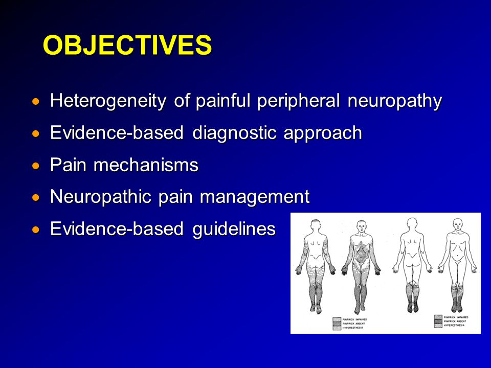 OBJECTIVES Heterogeneity of painful peripheral neuropathy