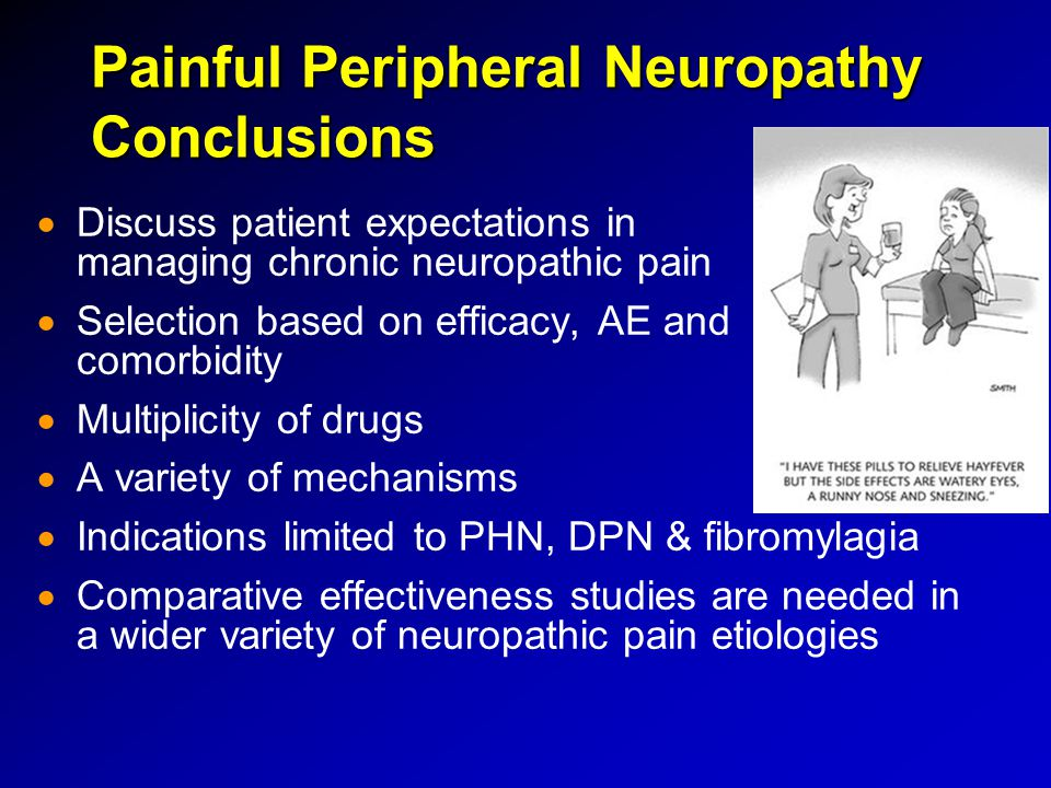 Painful Peripheral Neuropathy Conclusions