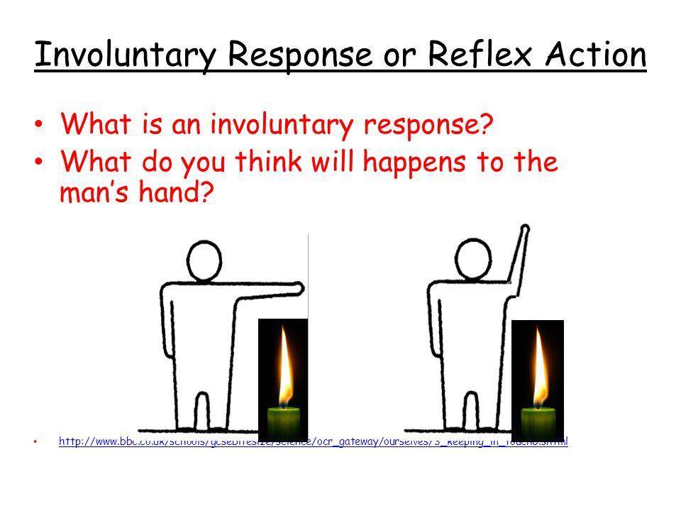 Involuntary Response or Reflex Action
