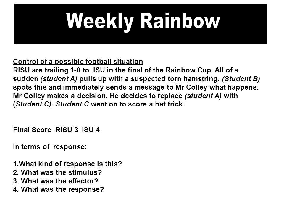 Brentwood Gazette Weekly Rainbow